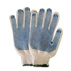 Cotton Dotted Hand Gloves