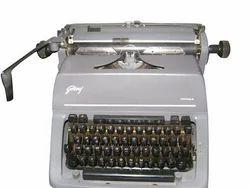 Grey Godrej Prima Fscape English and Marathi Typewriter