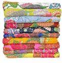 Tropical Kantha Bed Cover Handmade Tropicana Kantha Quilt