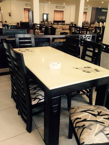 Marble Top Dining Table Set At Rs 40000 Piece Wooden Dining Table