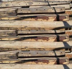 150mm railway wooden sleepers