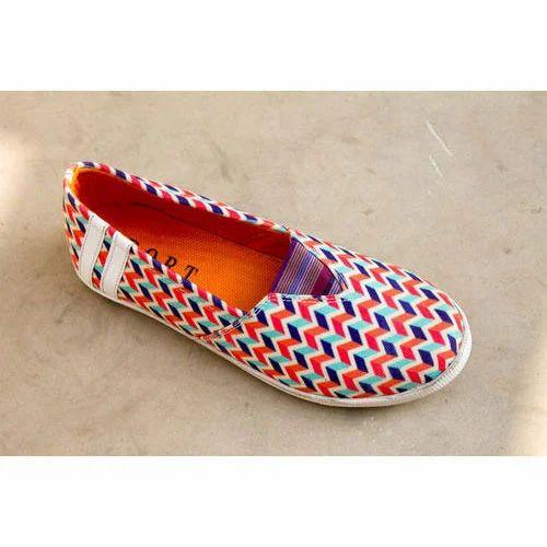 d888c5e74109 Client Specific Multicolor Ladies Fancy Shoes