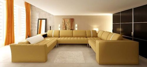 C Shape Luxurious Sofa Set
