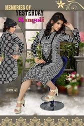Regular Wear Printed Kurti