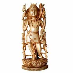 Shiva Standing On Lotus Wc135