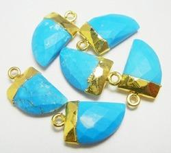 Turquoise Horn Shape Pendant