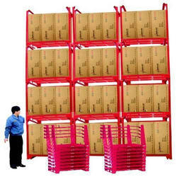 Hulk LokPal Red Stackable Containers, Capacity: 1000kg
