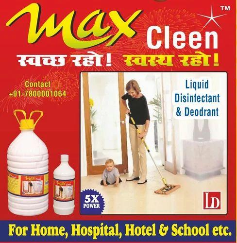 Max Cleen Floor Wash White Phenyl