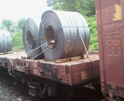 Steel Coil Lashing Steel Strap for Rail Rakes