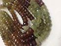 Grossular Garnet Stones Cut Rondelle Beads