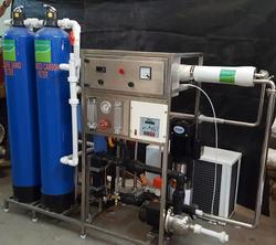 Chilled Water Plant - RO UV Online Chiller   SS Tank