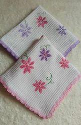 Laced Printed Handkerchief