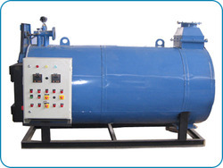 Three Pass Coil Type Packaged Hot Water Boiler, Capacity: 2000-3000 kg/hr, Oil Fired