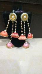 rd creation silk thred Fancy Earrings