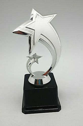 Silver Star Trophy At Rs 280 Pieces