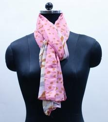 EGSC00011 Abstract Print Cotton Scarf
