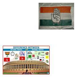Political Flags for National Parties
