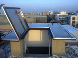 Openable Water Proof Skylight - Polycarbonate Sheet