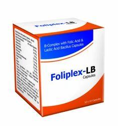 B-Complex and Lactic Acid Bacillus Capsules