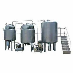 Automatic Liquid Oral Manufacturing Plant