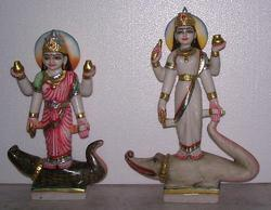 Ganga Marble Statue