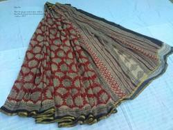 Female Chiffon Sarees, Length: 6 m