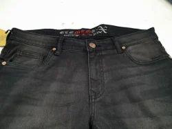 Mens Denim Black Fashion Jeans