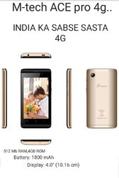 Silver And Grey Gold Black Silver Mtech Mobile, Ace Pro 4g