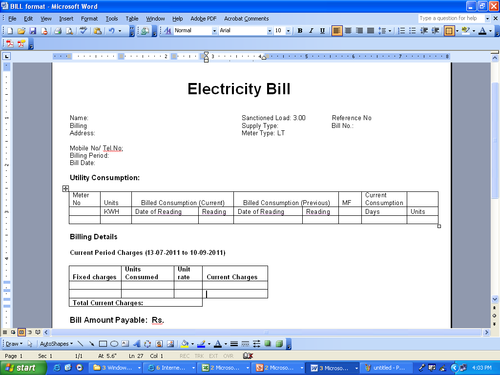 Electricity Billing Management Software Poweramr