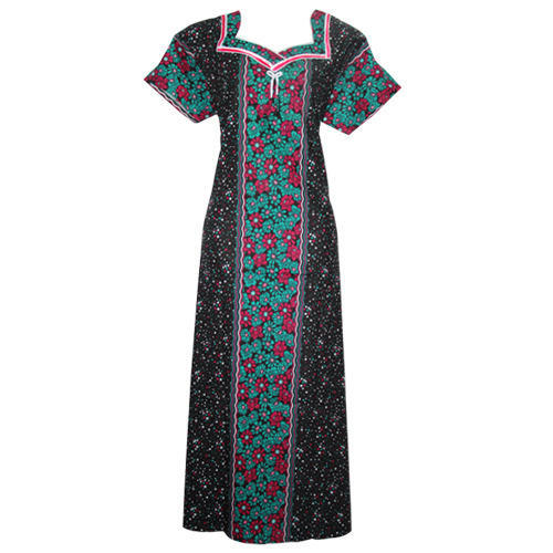 42d6211d0 Cotton Half Sleeves Nighty at Rs 175  piece(s)