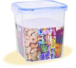 1000 ml Plastic Locked Airtight Square Container