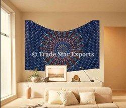 Hippie Mandala Cotton Wall Hanging Tapestry