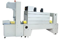 Semi-Automatic Sleeve Wrapper Shrink Tunnel Machine