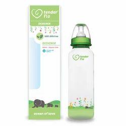 Transparent Tender Flo Designer Feeding Bottles