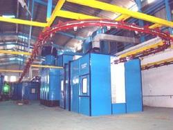 Conveyorised Liquid Coating Plant