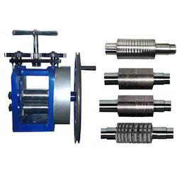 6x3 inch Hand Powered Jewellery Rolling Mill Machine