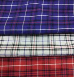 Cotton Checked Fabric