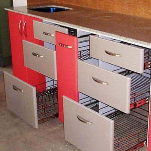 Stainless Steel Modular Kitchen Trolleys At Rs 3500 Piece