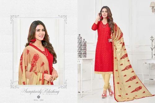 1a6e0a56b Chanderi Fancy Designer Salwar Kameez Suit