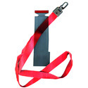 Red Nylon ID Card Holder Neck Rope