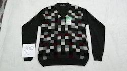 Computer Front Woolen Pullover