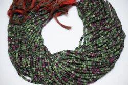 Ruby Zoisite Gemstone Beads Strand