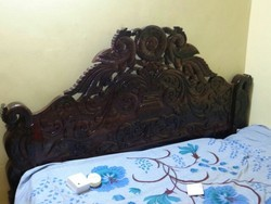 Red Wood Cot Bed