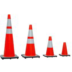LSS-RTC-02 Rubber Base Traffic Cone