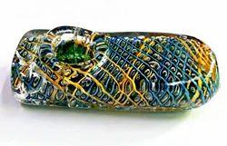 Glass Unique Design Squire Pipe, Collectible Glass Pipes