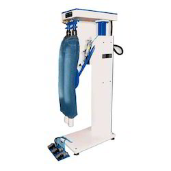 Vertical Jeans Wrinkle Machine