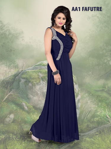 5f378c43c8 Indo Western Long Gown at Rs 1060  piece