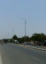 Conical Street Light Pole