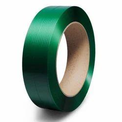 Zeal Polymers Dark Green Plastic Bracket PET Strap Roll, for Packaging