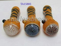 American Blown Glass Smoking Pipe